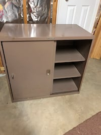 FREE lateral file cabinet metal