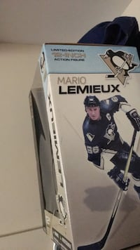 "Limited edition Mario Lemieux action figure 12"" London, N5V 3A4"