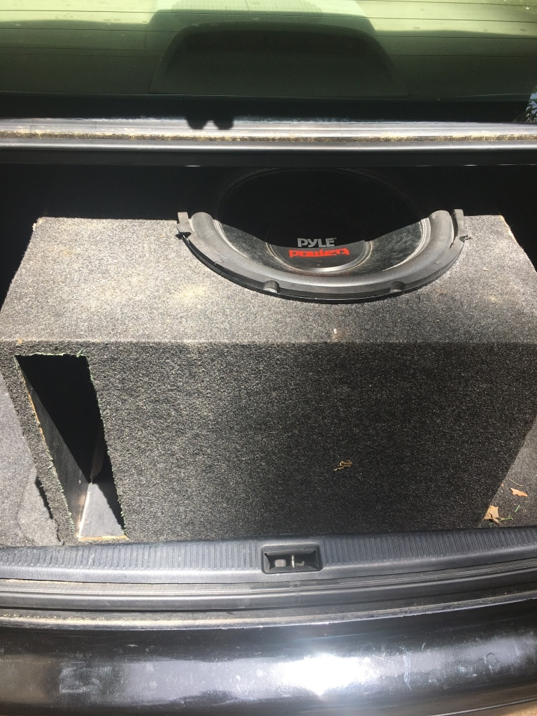 Photo 15inch pyle Power Subwoofer and big Ported box