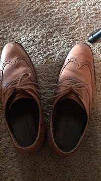 Pair of brown leather shoes Ann Arbor, 48103