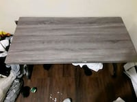rectangular brown wooden coffee table Edmonton, T5H 3H6