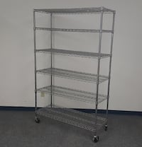 6 Tier Metro Style Wire Racks (5-Available) Carlsbad