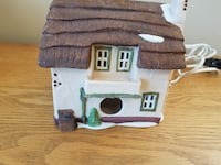 Heritage Village Collection Dickens Village Cottage Toy Shop-lights up Vaughan
