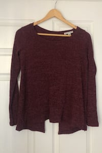 American Eagle Knit Top with Open Back - Size Small Barrie, L4N 8W3