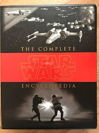 STAR WARS fans! The complete star wars encyclopædia! retails for $80-get it for only $35 Northbrook