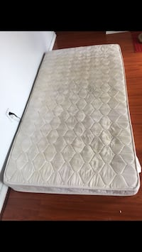 quilted white and gray mattress Torrance