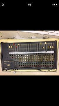 16 Channel Mixer and Flight Case Silver Spring, 20905