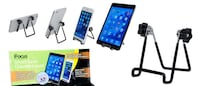 BLACK Aluminum Alloy Phone Holder Stand for Mobile Smart Cell Phone GPS New Westminster
