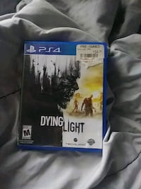 Dying Light PS4 game case Westport, 02790