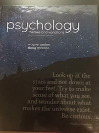 Psychology Book Toronto, M1M 2J4