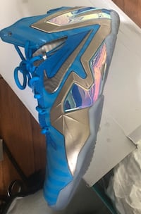 NIKE LEBRON XI 11 ELITE COLLECTION Blue Hero Like New Arlington, 22206