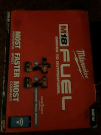 red and black Milwaukee M18 Fuel power tool box Candler, 28715
