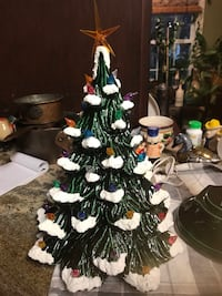 Vintage ceramic Christmas tree  Alexandria, 22315