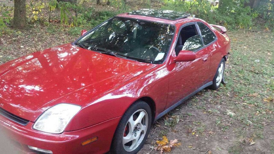 used honda prelude 97 39 red manual 5 speed in holland. Black Bedroom Furniture Sets. Home Design Ideas