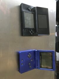blue Nintendo DS with game cartridge Spallumcheen, V1H