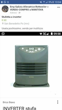 Stufetta a inverter  San Benedetto Po, 46027