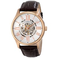 NEW Stuhrling Original 747.04 Automatic Skeleton Rose Gold Watch Toronto