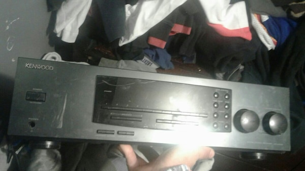 Black and Gray Kenwood Stereo $50 obo