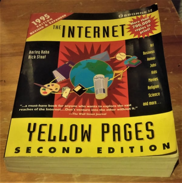 THE INTERNET YELLOW PAGES - SECOND EDITION 0126c72d-4d5b-4f70-86fd-c11fff9d5937