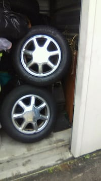 4 gently used Cadillac tires