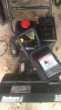 Snow blower used 3 times Stow, 44224