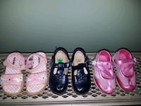 Lot of 3 Toddler size 6 and size 7 Shoes