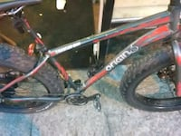 red and black Mongoose BMX bike Washington, 20001