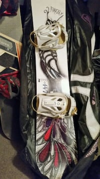Brand new snowboard with travel case  Vernon, V1H 1G5