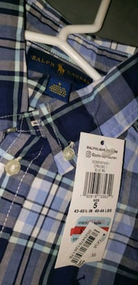 boys size 5 Polo button up dress shirt, new with tags from Macy's  Manassas, 20109