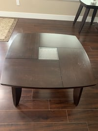 Wooden coffee and end table  Surrey, V3V 1J5
