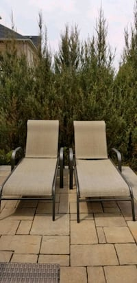 Sling Chaise lounge chairs X 2 Vaughan, L6A 0Z3