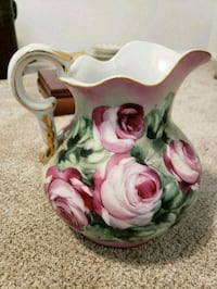 white and pink ceramic pitcher Rockville, 20855