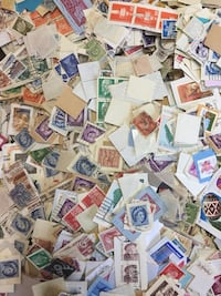 World Stamp Mix 5 Pounds Postage Stamps Kiloware - $50.00 - Lot D Markham, L3P 2Y2