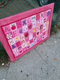FREE Baby Girls Abc's Large Canvas Painting New York, 11419
