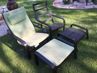 2 Black Ikea chairs in very good condition.