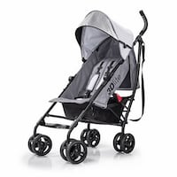 Brand new Summer 3D Lite stroller in grey colour.  Super light, large storage basket, big canopy, phone pocket, one hand fold...etc...  Retail 129+tax = $146  I am selling it for $100.   Pick up Dundas & Parliament area.  Toronto, M5A 0A7