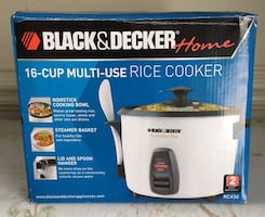 B & D 16-Cup Multi-Use Rice Cooker..