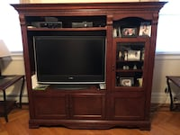 Recliner Sofa & Loveseat, Wall Unit, Coffee Table & 2 End Tables
