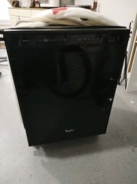 Dishwasher Whirlpool Black Stainless steel  Chantilly, 20152