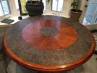 Round 54 inch dining table with tile inlet Caldwell, 07006