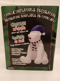 Christmas Inflatable Polar Bear Brampton, L6R 1E3