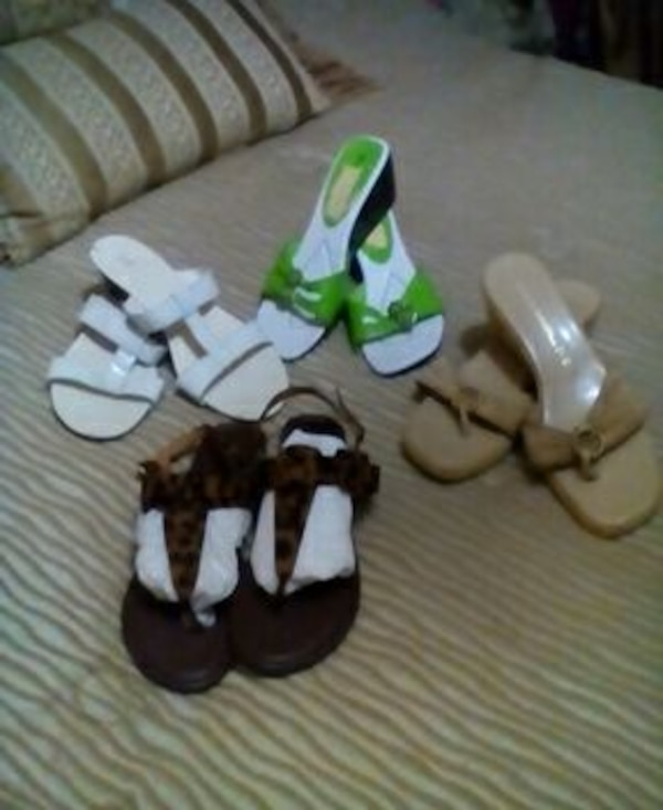 e6fd9673ff76 Used four pairs sandals for sale in Ontario - letgo