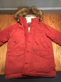 BNWT Abercrombie Parka - Burgundy, Size Small for Men Prince George, V2N 6R8