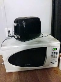 white and black microwave oven Highland, 92346