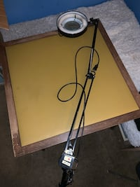 Drafting magnifying lamp  2271 mi