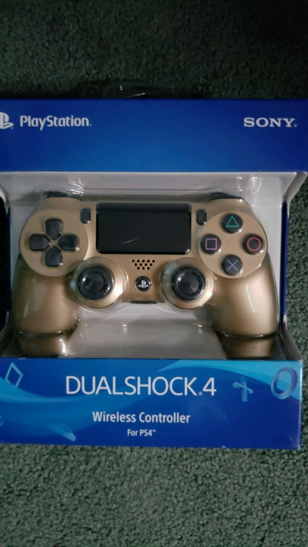 Ps4 controller gold read information