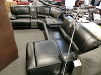 Call breathable leather sectional with Chase Jacksonville, 32246