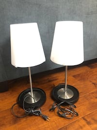 Ikea Glass Table Lamp (2 pieces, used) Los Angeles, 90042