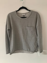 Grey Long Sleeve Top With Pocket London, N6C 4W7