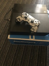 black Sony PS4 with two DualShock 4's Los Angeles, 90011
